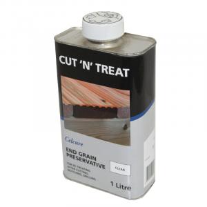 Cut end treatment clear